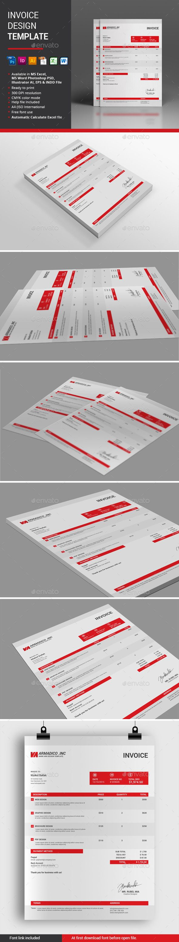 Invoice Desgin Template Proposals u0026 Invoices