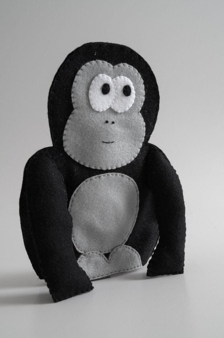 Handmade hand puppet