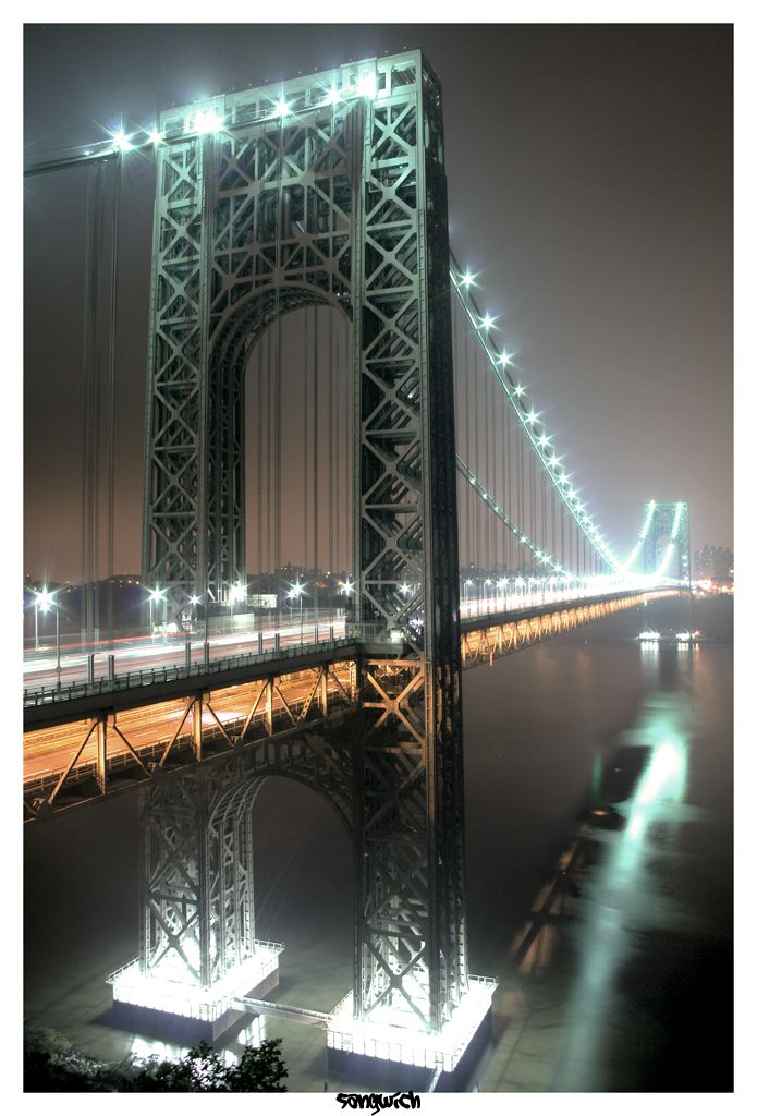 George Washington Bridge HDR by Sangwich on deviantART