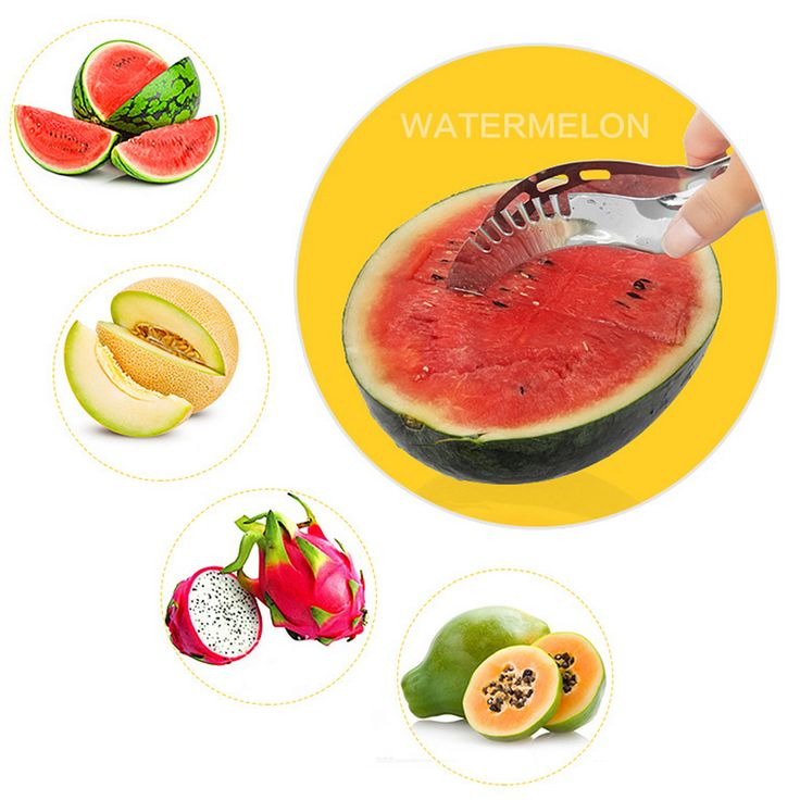 Mini Stainless Steel Watermelon Cutter Melon Slicer Corer Server Splitter Fruit Knife Kitchen Tool #>=#>=#>=#>=#> Click on the pin to check out discount price, color, size, shipping, etc. Save and like it!