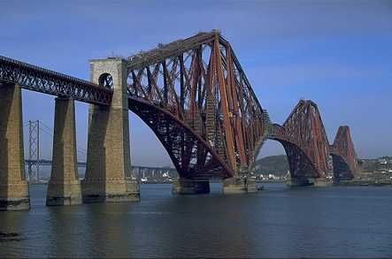 The Forth Rail Bridge, England