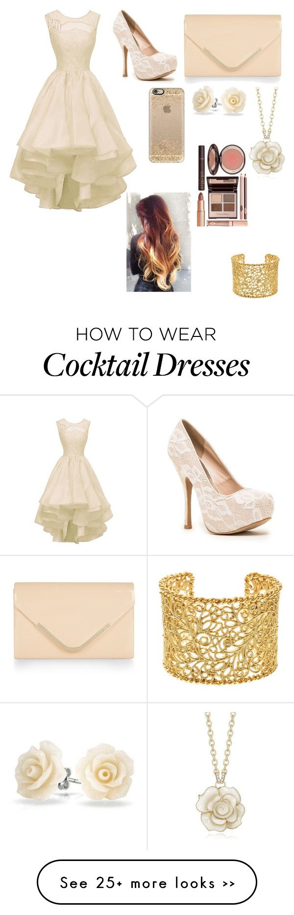 """""""Untitled #157"""" by ravinz on Polyvore featuring Qupid, Brooks Brothers, Accessorize, Bling Jewelry, Casetify and Charlotte Tilbury"""