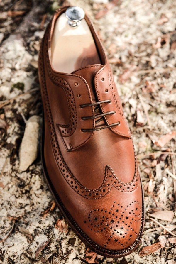 choisir des chaussures pour homme derby brogue long wing