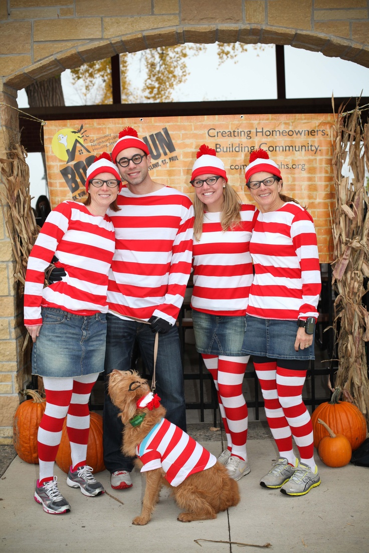 There's Waldo (and friends!) #running #costumes boorunrun.org
