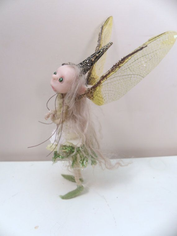 ooak poseable sweet little LAMB pIXie fairy 205 by dinkydarlings