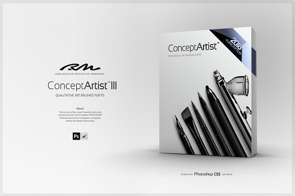 Rm Concept Artist Iii Bundle Photoshop Art Brushes