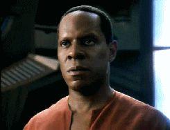 Commander Benjamin Sisko (Avery Brooks) from Star Trek-Deep Space Nine.