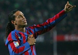 Ronaldinho is LEGEND