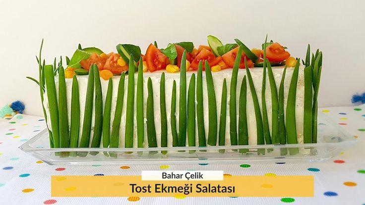 Tost Ekmeği Salatası Nasıl Yapılır? Tatlı Tarifleri - Bir Dilim Lezzet