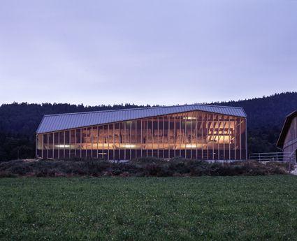 Local Architecture > Étable à Lignières