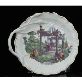 Blind Earl sweetmeat dish Classical Ruins C1772
