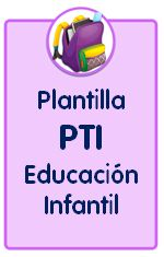 Plantilla editable de plan de trabajo individualizado para Educación Infantil