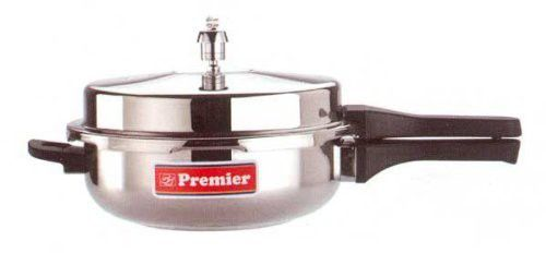 Premier Stainless Steel Sandwitch Pressure Pan (With One Free Gasket & One Valve)- Large