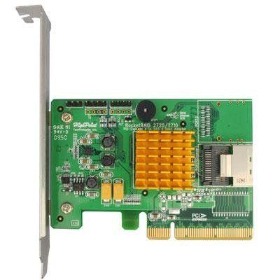 4-Port SAS RAID 6 Adapter by HPT. $176.01