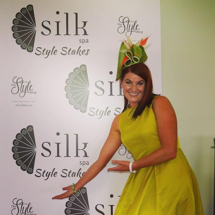 The gorgeous Charlotte Ward of @silkspa #stylestakes