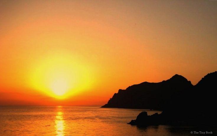 Sunset, Corfu