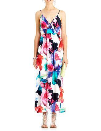 Tranquility Print Maxi Dress - ISLA by TALULAH
