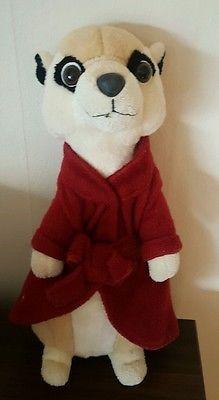 Meerkat Teddy Soft Toy