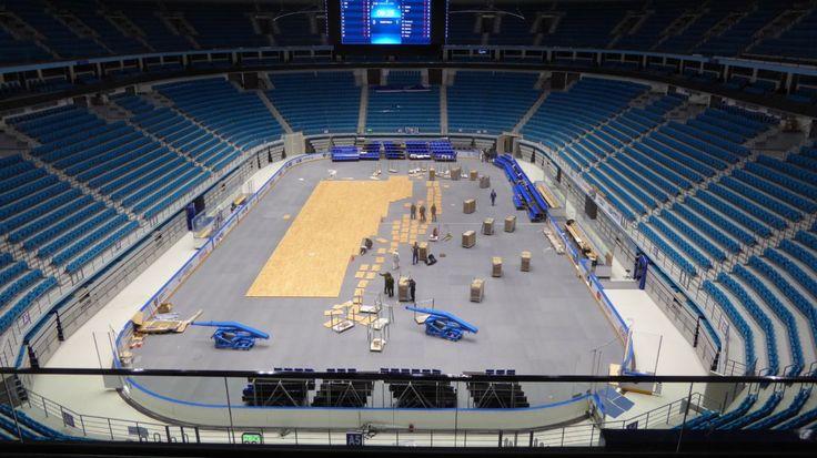 #astana #basketball #kazakhstan #sports #flooring #parquet #dallariva