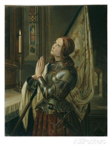 Jeanne d'Arc (Joan of Arc) Giclee Print by N.M. Dyudin at AllPosters.com