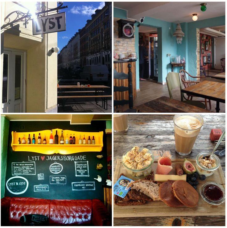Café Lyst i Jægersborggade.