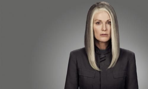 First Look at Julianne Moore in Mockingjay Part 1  Julianne Moore talks President Coin and a flashy new poster is unveiled  Read more at http://gotchamovies.com/news/first-look-julianne-moore-mockingjay-part-1-180293#Hg4DyR8Sfrqo7JEt.99  #JulianneMoore #Mockingjay #MockingjayPart1 #TheHungerGames #PresidentCoin