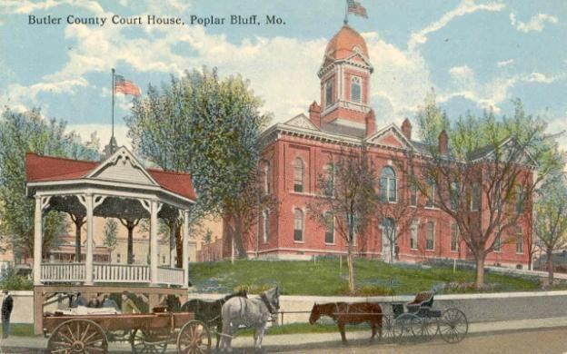 Tornado 1927 Poplar Bluff Built 1887 Contr L B Walker Co