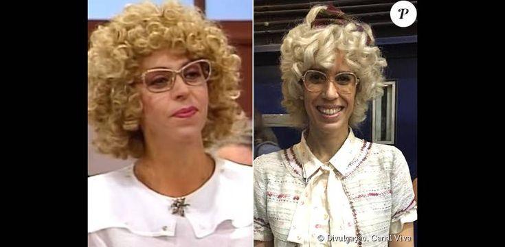Maria Clara Gueiros será Dona Cândida na 'Escolinha do Professor Raimundo'. Na primeira versão, Stella Freitas deu vida à aluna