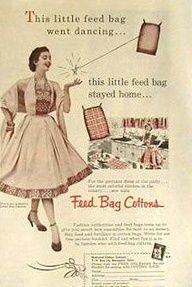 Feed sack dresses images