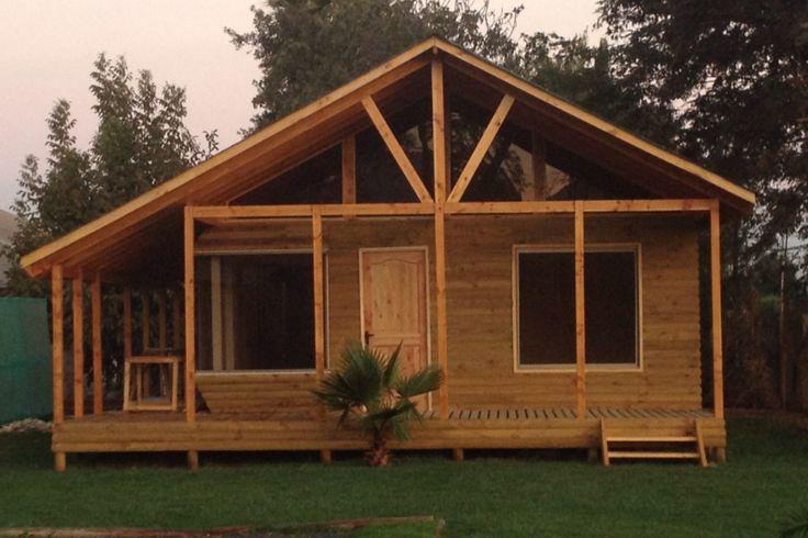 Desarrollamos toda clase de casas en madera chalets y de construcciones en - Cabanas de madera los pinos ...