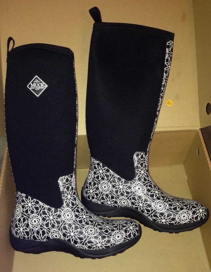 These will be my next pair of muck boots (: