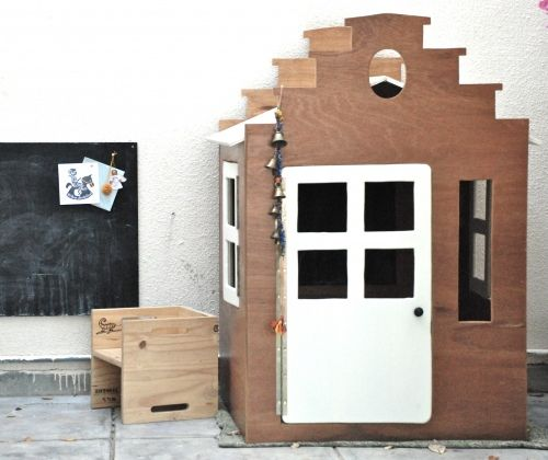 Chambre d'enfant : la maison au bord du canal: Canal House, Little Houses, Playhouses, Kidsroom, Kids Rooms, Play Houses
