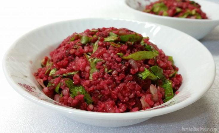 Pancarlı Bulgur Salatası - Bereketli Sofralar