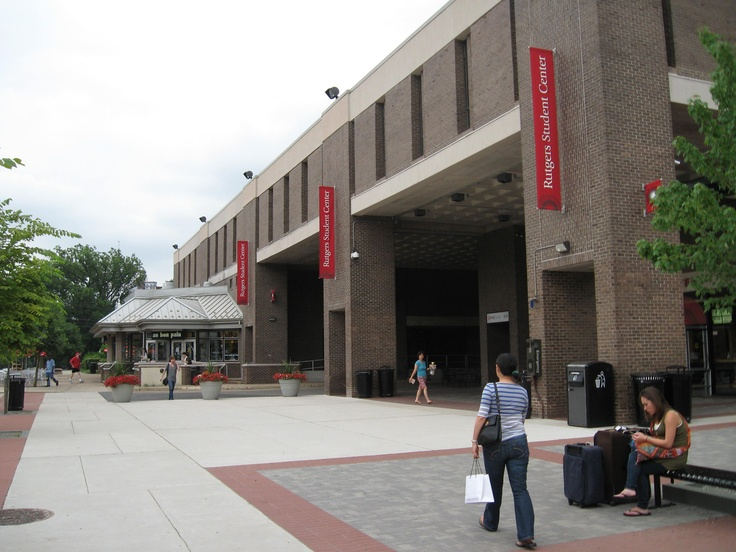 Student center on the College Avenue Campus