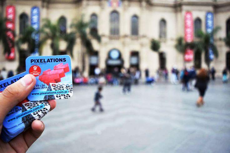 Acción sonora en vía pública. Postalitas 2014 by Nirat print.