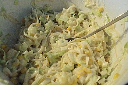 Lauch - Sellerie - Ananas - Salat 1