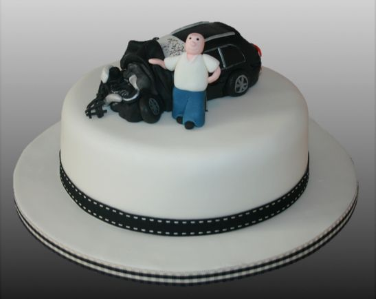 Car Crash Cake