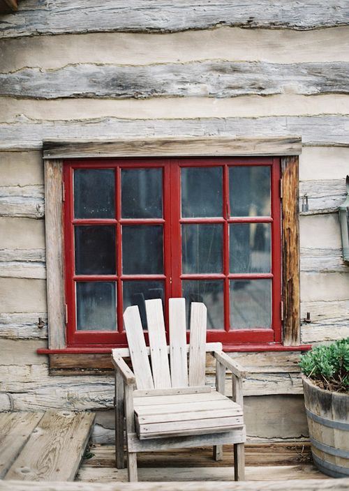 Cabins Out Of Old Windows : Best images about old windows on pinterest red