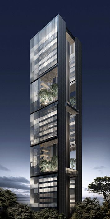 les 299 meilleures images du tableau high rise sur pinterest architecture architecture. Black Bedroom Furniture Sets. Home Design Ideas