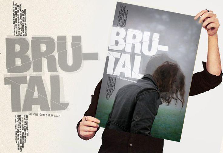 Diseño para cortometraje BRUTAL de Cristobál Durán