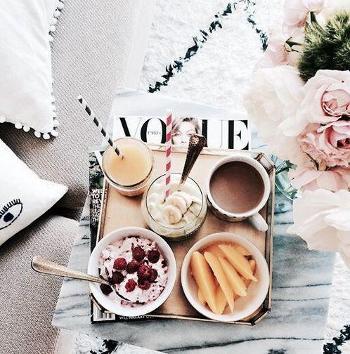 food, vogue, and breakfast -kuva