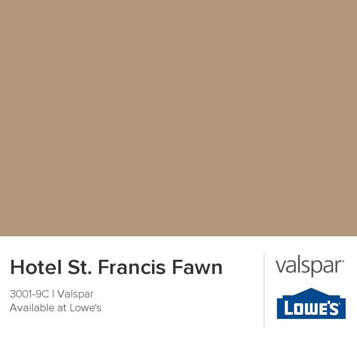 Hotel St Francis Fawn From Valspar Bedroom Ideas Pinterest Exterior Colors Home And Colors