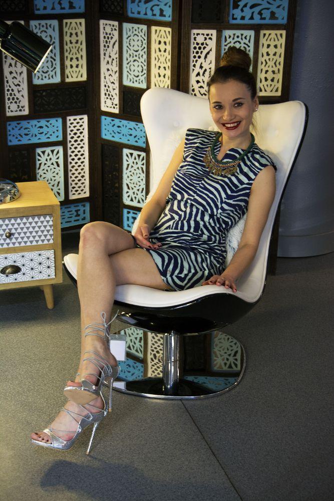 Zebra Print Dress | Chic Cocktail