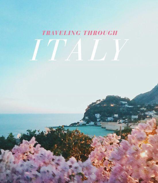 D E S I G N L O V E F E S T » TRAVELING THROUGH ITALY FAVORITES