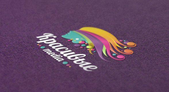 """""""Красивые media"""" - логотип для новостного стартап-проекта (парикмахерское искусство). Дизайнер - Ольга Шу. #логотип #волосы #парикмахер #стрижка #окрашивание #девушка #girl #hair #hairdressing #barbering #colors #haircut #coloration #logo #лого #дизайн #design #logodesign #logotype #tailroom #inspiration"""