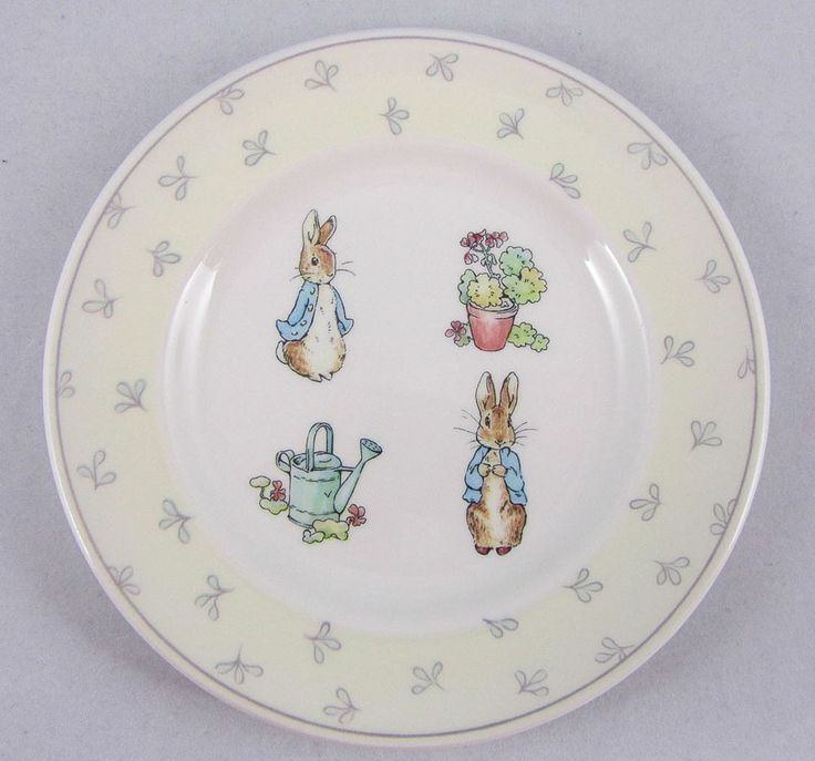 Wedgwood Peter Rabbit Teatime Collector Plate World Of
