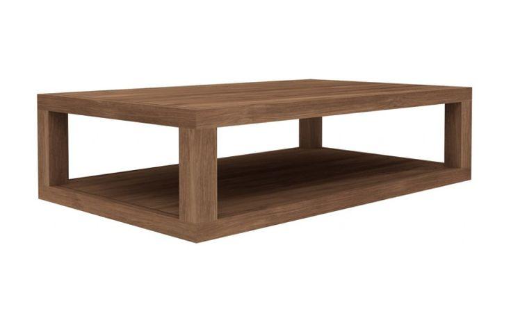 Duplex Teak Coffee Table - 51