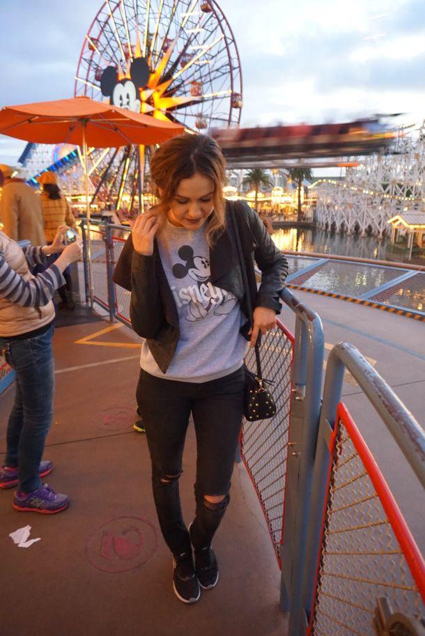 Disneyland Outfit Winter Season The Broke Girl
