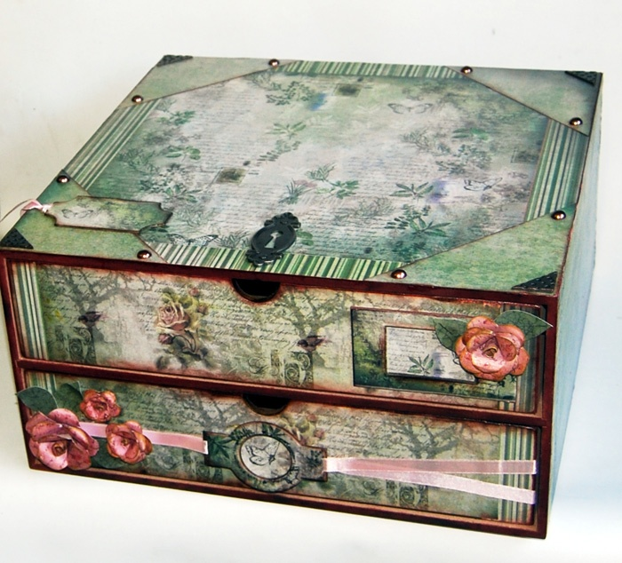 Beautiful Storage Box by Scrappers Solutions
