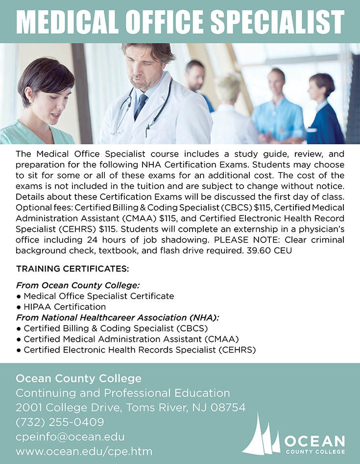 Medical Billing Coding Specialist Certificate Continuing
